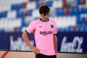کاپیتان بارسلونا فصل را از دست داد